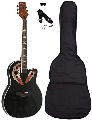 Street - Ova de 5 de BK Western de Guitar, delgado Guitarra ...