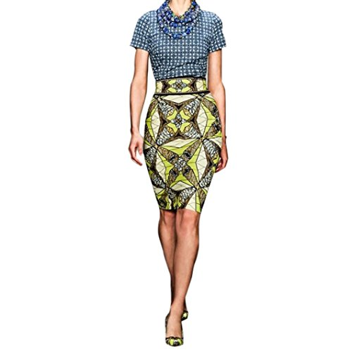 Ouneed® Femme Moderne Abstrait Jupe Mouloute