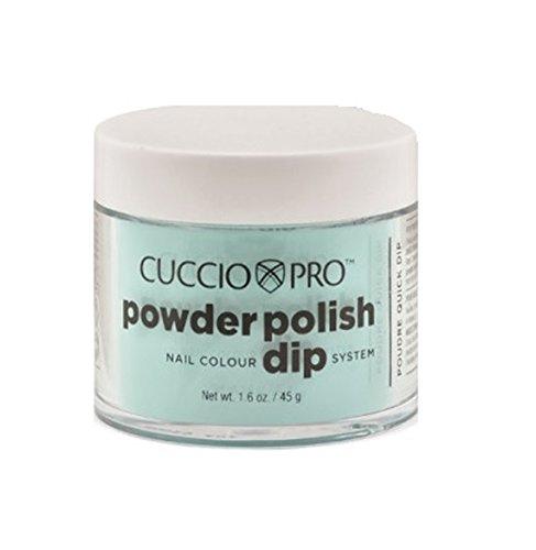 Aqua Powder (Cuccio Pro Dipping Powder, Aquamarine, 1.6 Ounce)