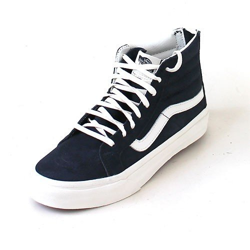 996fb3971e Vans Sk8-Hi Slim Zip (Scotchgard) Blue Graphite  Amazon.co.uk  Shoes   Bags