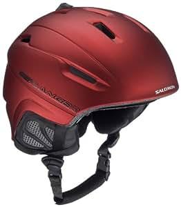 Salomon 326016-XLXX - Casco para ski (talla 60-62), color rojo mate