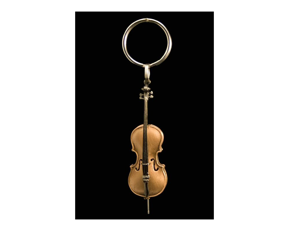 Amazon.com: Harmony Jewelry – Cadena Cello clave: Musical ...