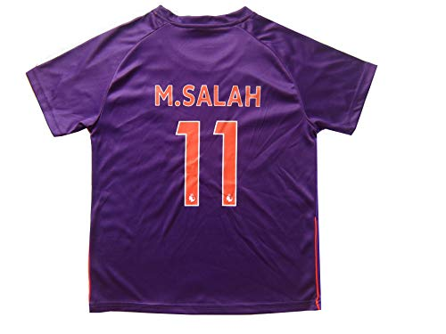 d8a616a3f LES TRICOT 2018 2019 Liverpool Away  11 Salah Football Futbol Soccer Kids  Jersey Shorts
