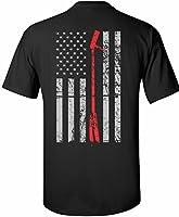 Patriot Apparel halligan Thin Red Line Firefighter T-Shirt