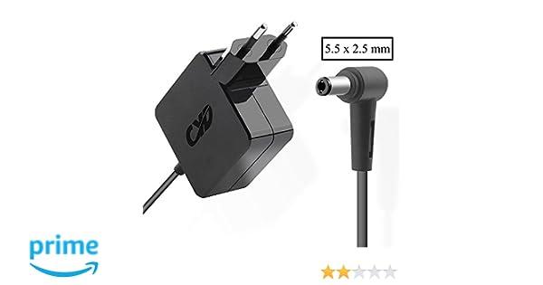 CYD 65W 19V 3.42A PowerFast-Portátile-Cargador para Asus X551 X551C x551m X551MAV X550 X550C X550LA X550ZA X552 X550LN x552lav X555DA X555L X401A ...