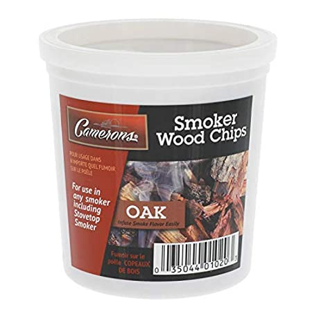 100/% Natural 1 Pint Oak Wood Smoker Chips Fine Wood Smoker and Barbecue Chips