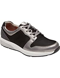Rockport Women's Trustride Derby Trainer Fashion Sneaker, Dark