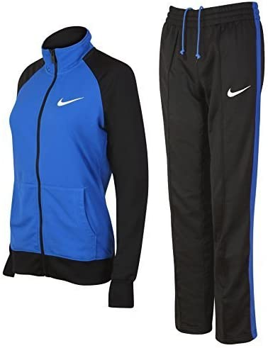 Nike Para Dama Poliéster Tejida Raglán Calentamiento Eran Chándal ...