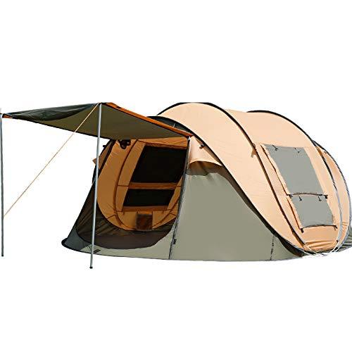 KD Outdoor 3-4  Herrenchen Automatische Doppel-Luft-Verteidigung Regen Feld Geschwindigkeit Öffnen Zelt Camping Anti-Sun Camping Big Tent