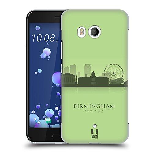 Head Case Designs Birmingham Landmark Silhouettes - Uk Hard Back Case for HTC U11 / - Birmingham Shop Head