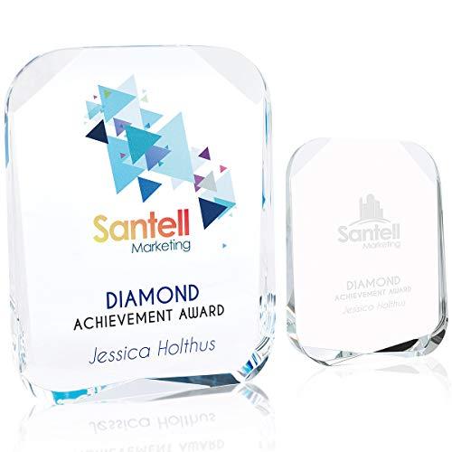 - JAFFA Beveled Corners Award - Large Clear 6 Pack