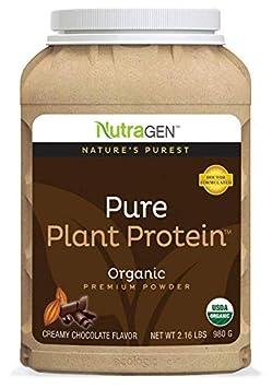 NUTRAGEN PURE PLANT PROTEIN CREAMY CHOCOLATE FLAVOR