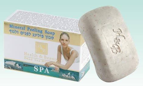 Minérale de la Mer Morte H & B Peeling savon