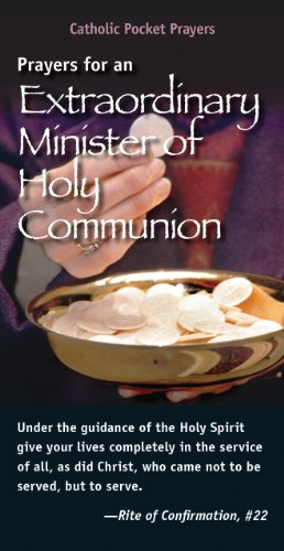 Prayers for an Extraordinary Minister of Holy Communion (Pack of - Holy Prayers Communion