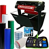 "28"" LaserPoint 3 Vinyl Cutter Plotter with Contour Cutting, Supplies, Tools (Bundle)"