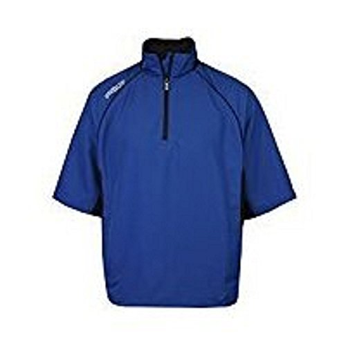 ProQuip Golf - Men's UltraLite Half-Sleeve Pullover (1/2 Zip) - Water & Wind Repellent - Blue - S