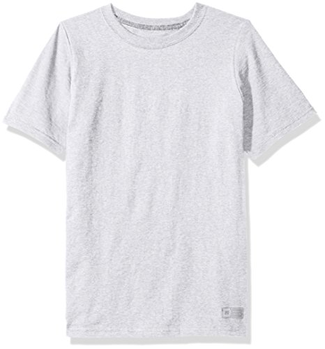 Russell Athletic Big Boys' Essential Short Sleeve Tee, Ash, - Russell Shirts Tee Athletic