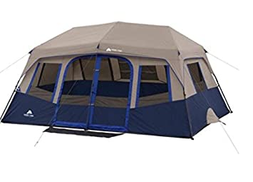 Ozark Trail 10-Person 2 Room Instant Cabin Tent  sc 1 st  Amazon.com & Amazon.com : Ozark Trail 10-Person 2 Room Instant Cabin Tent ...