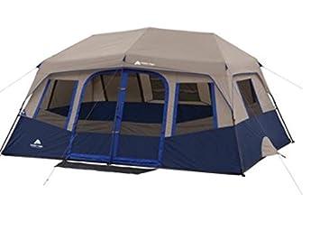 Ozark Trail 10-Person 2 Room Instant Cabin Tent  sc 1 st  Amazon.com & Amazon.com : Ozark Trail 10-Person 2 Room Instant Cabin Tent ...