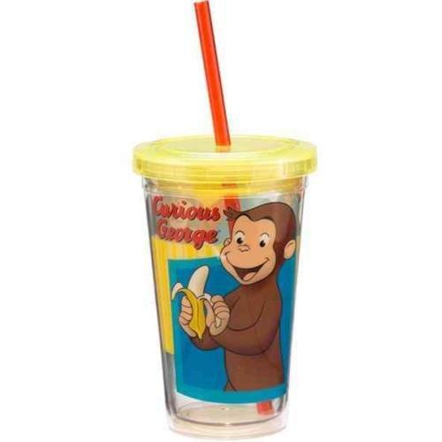 Curious George 12 Oz. Acrylic Travel Cup