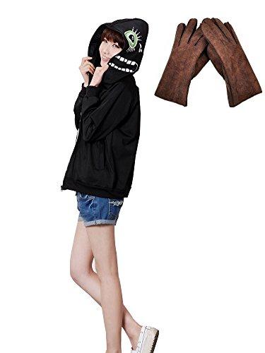 F&C Vocaloid Gakupo Russian Matryoshka Jacket Hoodie Coat Cosplay Costune 1 (Large, Black) (Sexy Costunes)
