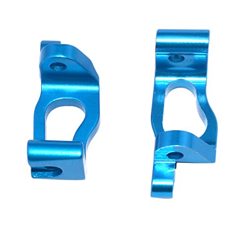 Accessory Alloy Left/Right C Hub for RC Buggy Truck LRP S10 Blast Blue ()