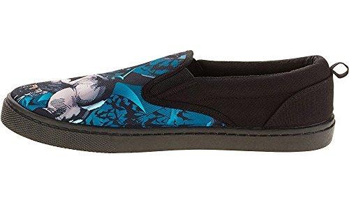 Batman Men's Slip on Shoes (8 D (M) US) Black ()