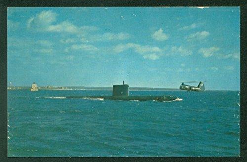 USS Nautilus 1st Nuclear Powered Submarine New London Connecticut Navy ()