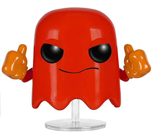 Funko POP Games: Pac-Man - Blinky Action Figure -