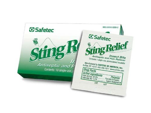 - Sting Relief 10 Packet Box