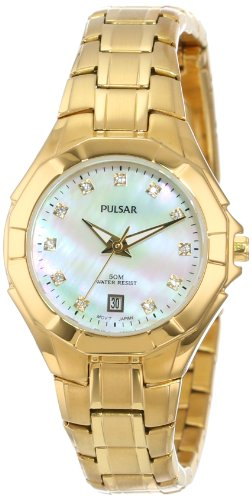 Seiko Unisex PH7242 Analog Japanese-Quartz Gold Watch