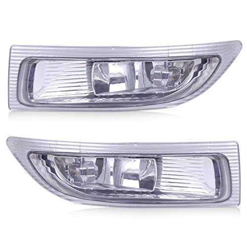 Price comparison product image Yise-D001 New 2Pcs Car 2 Pin Right + Left Front Fog Lamp Light with Bulbs 81210-AE010 81220-AE010 fit for TOYOTA SIENNA 2004 2005