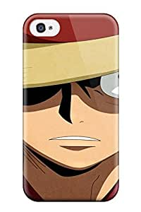 Best one piece / luffy Anime Pop Culture Hard Plastic ipod Touch4 cases