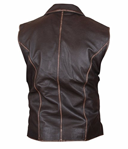 On Skin Uomo Giacca Hell Feather Vest Pelle Wheels PqwZIqEd