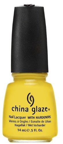 China Glaze Nail Polish, Sunshine Pop, 0.5 Fluid Ounce