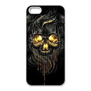 ZXCV Shiny melting skull Cell Phone Case for Iphone 5s
