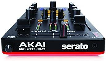 AKAI Professional AMX | Controlador de Mezclas Ultraportátil de 2 Decks Alimentado por USB y Habilitado para DVS con Serato DJ Incluido: Amazon.es: Electrónica