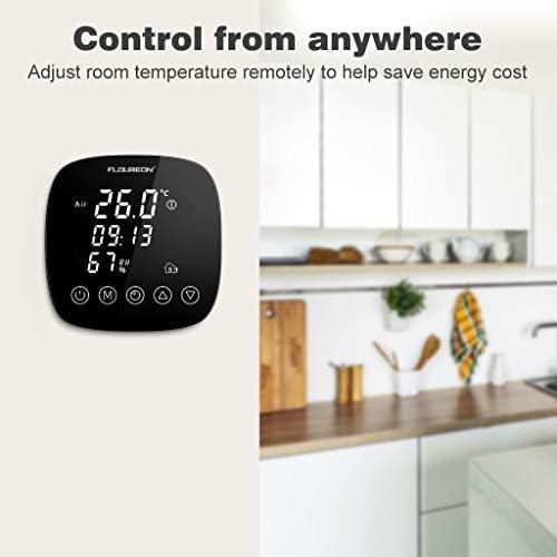1-10X LCD Raumthermostat Thermostat Fußbodenheizung mit Feuchtigkeitssensor 16A