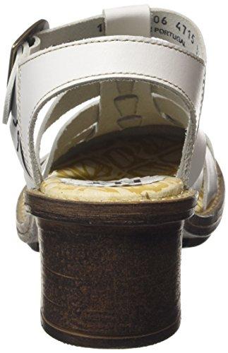 Fly London Donna Celo511fly Vestito Sandalo Off Vege Tinto Bianco