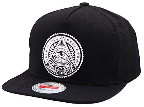 9891f35218b sujii Illuminati Snapback Hat Baseball Cap Trucker Hat