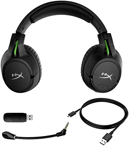 HyperX CloudX Flight – Wireless Gaming Headset, Official Xbox Licensed, Compatible with Xbox One and Xbox Series X|S, Game and Chat Mixer, Memory Foam, Detachable Noise-Cancellation Microphone