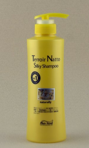 Terroir Natto Silky Shampoo naturally (500g) by Hair Food (Best Hair Shampoo For Silky Hair)