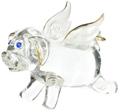 StealStreet SS-UG-HG-683 Flying Pig Decoration Figurine