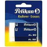 Pelikan 620112 Kunststoff-Radierer AL20, 3 Stück