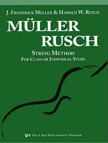 51VN - KJOS Muller-Rusch String Method 1 Violin Book ()