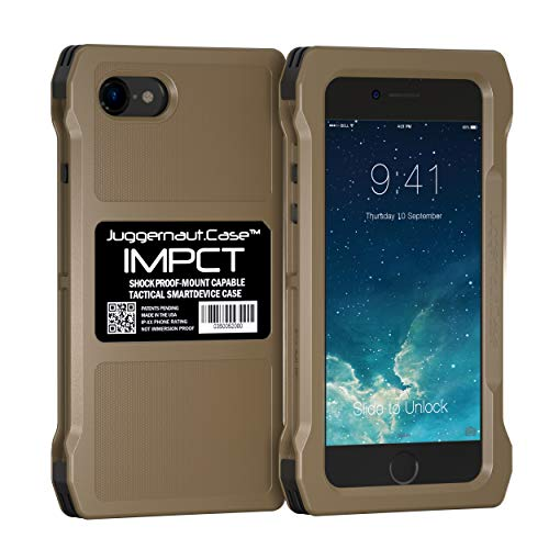 Juggernaut.Case IMPCT Smartphone Case - Compatible with Apple iPhone 7 & 8