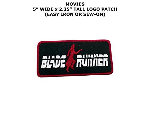 Blade Runner Movie Embroidered Iron/Sew-on Comic Cartoon Theme Logo (Vid Runner)