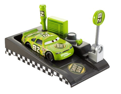 - Disney Pixar Cars Pit Race-Off Shiny Wax with Launcher