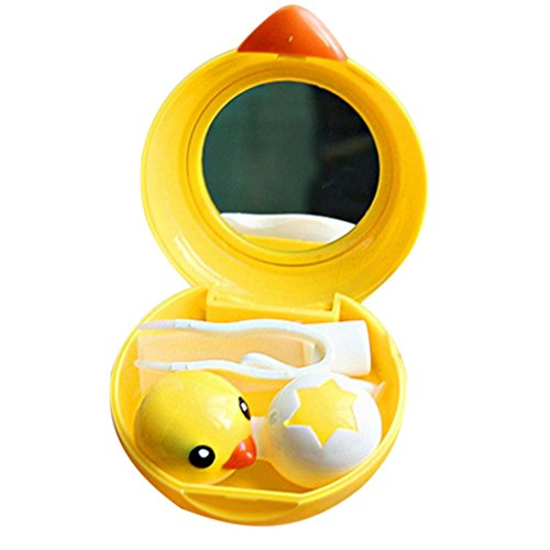 Hee Grand-Cute Duck Forme Contact Lens Jaune