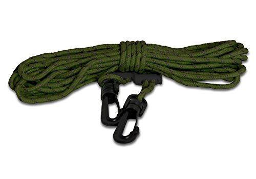- TREE SPIDER Pull Up Light Line-Reflective Safety Harness, Olive